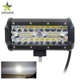 Het hete Verkopen 72W 7inch maakt Offroad LEIDENE van de Vrachtwagen Licht van de Mijnbouw waterdicht, 4X4 LEIDENE Lichte Staven voor Jeep