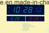 De LEIDENE Kleurrijke Digitale Klok die de Datum tonen