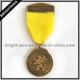 Het Medaillon van de Medaille van het Sleutelkoord van de kwaliteit voor Gift (byh-101163)