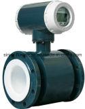 Compteur de débit électromagnétique d'eaux d'égout industrielles chimiques