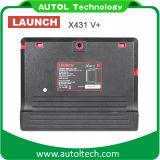 Lanzamiento X431 V + OBD2 Auto herramienta de diagnóstico para la mayoría de todos los coches de apoyo de diagnóstico de camiones con HD Box mejor que X431 PRO