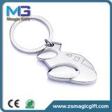 Spitzenverkaufs-Metall 3D flaches Keychain, Schlüsselkette, Schlüsselring