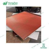 Panel Sandwich de aluminio corrugado con perforado para Panel de techo