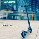 Koowheelの新しい元の小型折られたリチウムSamsung電池の移動性の電気蹴りのスクーター