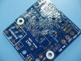 青いSoldermaskの重い銅3oz PCBのボード2layer HASL