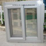 Qualität Morden Aluminium, das einzelnes Glasfenster schiebt