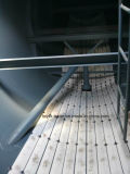 ISO CCC genehmigte 3 kleber-Becken-Schlussteil der Wellen-40cbm Massen