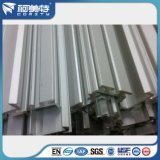 Perfiles de aluminio de plata naturales anodizados estándar de RoHS para la asamblea