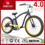 26 * 4.0 polegadas 500W praia neve gordo pneu bicicleta elétrica, motocicleta Mountain E Bike