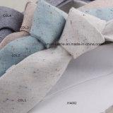 Fournisseur de toile de la Chine de la cravate des hommes colorés tissés fabriqués à la main de jacquard