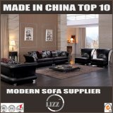 Stilvolles Luxuxqualitäts-Ausgangsmöbel-Leder-Sofa-Set