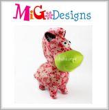 Nuevo Arte decoración regalo animales cerámica Hucha OEM