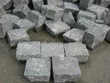 Lastricatori neri basalto/del granito/cubico/cubo/ciottoli/spaccatura naturale dei ciottoli