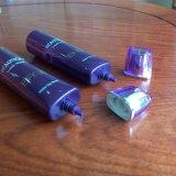 Novos produtos Tubo de embalagem de plástico oval com tampa de acrílico