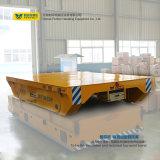Chariot de remorque de chariot à transfert motorisé par plate-forme d'étagère