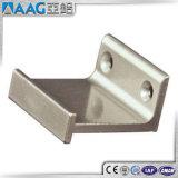Corchete de aluminio de la esquina del travesaño