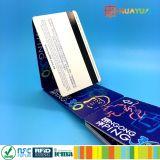 billet simple de papier d'IDENTIFICATION RF de piste magnétique de gamme de lang