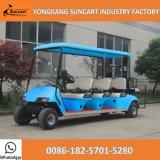 8 Seaterのセリウム公認クラブホテル車の販売、カスタマイズされたカラーのための電気手段のゴルフカート