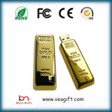 Presentes originais Gold Bar USB Flash Drive presentes gravados Produtos Promocionais