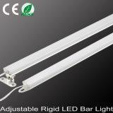 내각 표시등 막대의 밑에 조정가능한 LED