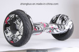 2017 Two Wheels Zebra Cross-Country Hoverboard Monopatín eléctrico Bluetooth Musical auto equilibrio Scooter