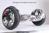 2017 Deux roues Zebra Cross-Country Hoverboard Electric Skateboard auto scooter d'équilibrage de musique Bluetooth