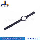 Beweglicher kundenspezifischer Nylon-RFID Wristband für Flughafen-Pakete