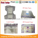 Tecido absorvente elevado Ultra-Thin do bebê que Pampering o fabricante do tecido