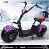 Scooter 2017 électrique de Harley de chargement de la ville Coco/1000W Harley Scooter/1500W 200kgs de Zyao 60V
