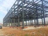 Taller de la planta de la estructura de acero de la luz del palmo grande