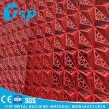 Подгонянная Perforated высеканная панель стены алюминиевая для украшения стены фасада