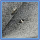 Lana de fieltro personalizado Pequeño almacenaje cosmético del bolso de mano, regalo simple promoción del diseño de embalaje bolsa con el botón