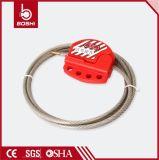 Fechamento do cabo ajustável com cabo do aço inoxidável de 1.8 medidores