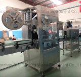 Automatische PlastikglasTafelwaßershrink-Hülsen-Etikettiermaschine
