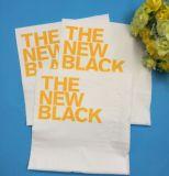 Carta velina stampata molle del tovagliolo di pranzo di marchio