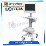 조정가능한 대 /Medical 트롤리 피마자 바퀴 (GT-WT06)를 가진 내시경 트롤리