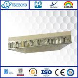 El panel de aluminio de piedra del panal para el revestimiento de la pared