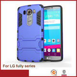 Estojo para celular caso de armadura para LG Fully Series Power Iron Man Case