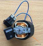 Mini motor de CA de la fábrica para la placa frontal del amortiguador del negro de humo