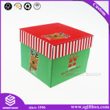 Custom квадратных картонной упаковке на Рождество