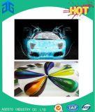 Les peintures acryliques de véhicule de polyuréthane pour tournent