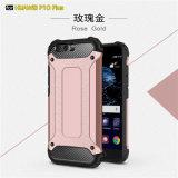 A los golpes de TPU PC cubierta de piel glitter para Huawei P10 Plus