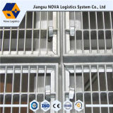 Mezanino de aço resistente do armazenamento com revestimento