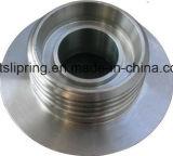Schweizer-maschinell bearbeitende kupfernes Stahlplastikmetalltitanaluminium CNC-Maschinen-Teile