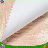 Tela tejida apagón impermeable revestido casero del poliester del franco de la materia textil para la cortina