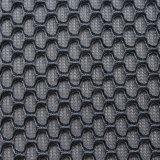 Tela 100% de acoplamiento del emparedado del aire del orificio del punto del poliester