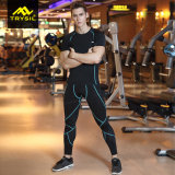 Breathable Sportswear пригодности верхних частей/кальсон сетки для людей