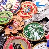 Il commercio su ordinazione conia la moneta del metallo per la promozione