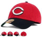 Correa de hebilla de metal de vuelta 6 paneles de deportes de algodón Gorra sombrero con logo bordado en 3D.