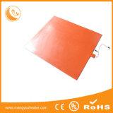 860*200mm 800W de Aangepaste Warmhoudplaat van Slicone van het Voltage Rubber Flexibele